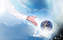 Earth and creation Stock Images