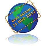 Earth expiry date Royalty Free Stock Photo