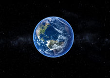 Earth in space Royalty Free Stock Photo