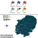 East of England, United Kingdom Royalty Free Stock Photos