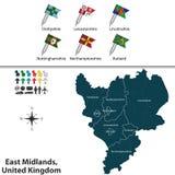 East Midlands, United Kingdom Stock Photo