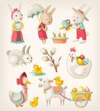 Easter animals Stock Images