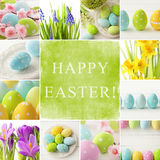Easter collage Stock Images