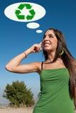 Ecological thinking Royalty Free Stock Photo