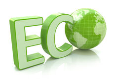 Ecology conservation, environment protection and nature saving Stock Images