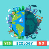 Ecology. Environmental protection Stock Photo