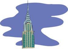 Edificio de Chrysler Imágenes de archivo libres de regalías