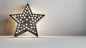 Edison star Royalty Free Stock Photography