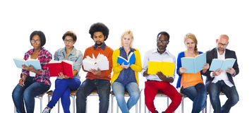 Education College Diverse Diversity Ethnic Ethnicity Concept Stock Images