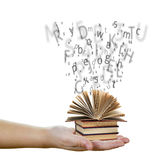 Education and knowledge concept Stock Images