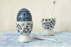 Egg cups Royalty Free Stock Photo