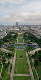 Eiffel tower view Royalty Free Stock Image