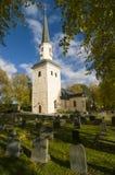 Ekero medieval church Sweden Stock Photo