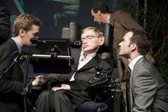 El Hawking de Stephen Foto de archivo libre de regalías