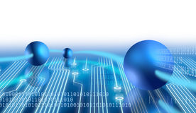 Electronics and communication Stock Images