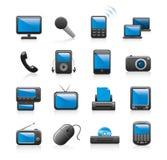 Electronics icons Royalty Free Stock Image