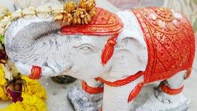 elefante da escultura Foto de Stock Royalty Free