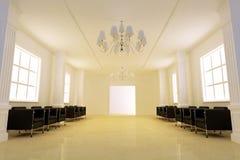 Elegance corridor Royalty Free Stock Images