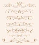Elegance design elements Royalty Free Stock Image