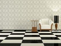 Elegance modern living room Stock Images
