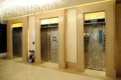 Elevator entrance Royalty Free Stock Photo