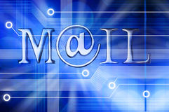 Email Mail Background Royalty Free Stock Photography