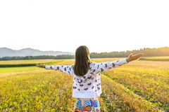 Embracing life Royalty Free Stock Images