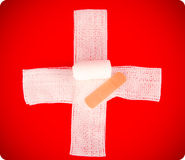 Emergency cross Royalty Free Stock Images