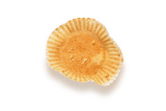 Empty cupcake wrapper Stock Images