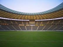 Empty stadium Stock Image