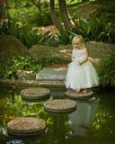 Enchanted garden Stock Photo