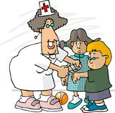 Enfermeira da escola Fotos de Stock Royalty Free