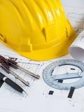 Engineer workplace Stock Photo