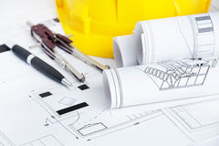 Engineer workplace Stock Photography