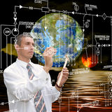 Engineering astronomy research Royalty Free Stock Images