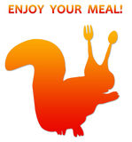 Enjoy your meal Stock Images