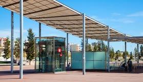 Entrance of Metro station Gorg Stock Photography
