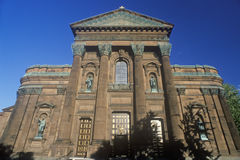 Entrance to the Cathedral of Peter and Paul, Philadelphia, PA Royalty Free Stock Photography