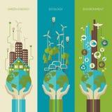 Environmental protection, ecology concept vertical Stock Photos