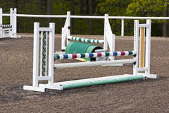 Equestrian Horse Jump Stock Images
