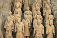 Esercito di terracotta - Cina Immagini Stock