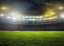 estadio Imagen de archivo libre de regalías
