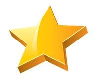estrela 3D Foto de Stock