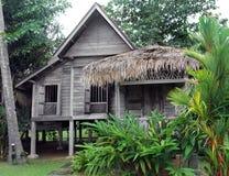 Ethnic rural southeast asian house on stilts Stock Photos