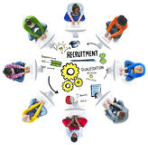 Ethnicity Business People Communication DIscussion Recruitment C Stock Photos