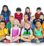 Ethnicity Diversity Gorup of Kids Friendship Cheerful Concept Royalty Free Stock Images