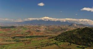 Etna Sicilian landscape Royalty Free Stock Photo