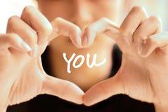 Eu te amo Fotografia de Stock