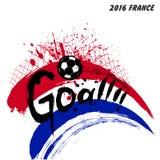 Euro-Frankreich-Fußball 2016 Stockfoto
