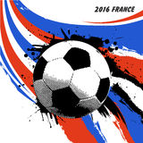Euro-Frankreich-Fußball 2016 Lizenzfreies Stockbild